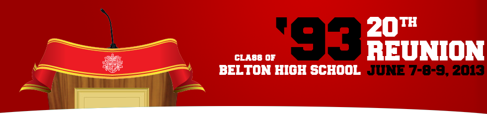 Belton High School Reunion  Class of 1993